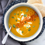 Vegan Creamy Carrot Soup
