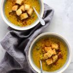 Vegan Cheddar Broccoli Soup