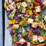 Teriyaki Tofu Sheet Pan Dinner
