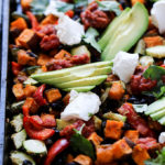 Southwest Sheet Pan Dinner | Simple, gluten free, and meatless dinner option
