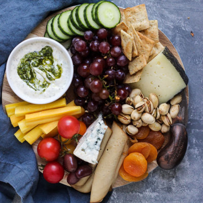 Vegetarian Cheeseboard for Two