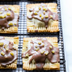 Vegan Ginger Pear Pop Tarts | Perfect for a festive holiday breakfast!
