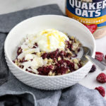 Chia Berry Oats   #ad A healthy breakfast you'll eat on repeat!