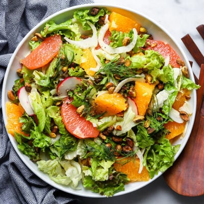 Simple Citrus and Fennel Salad