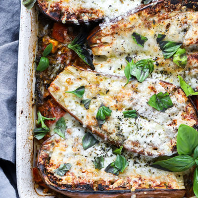 Tomato and Eggplant Bake