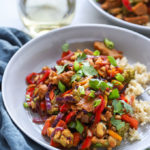 "Vegan Cashew ""Chicken"" Stir Fry"