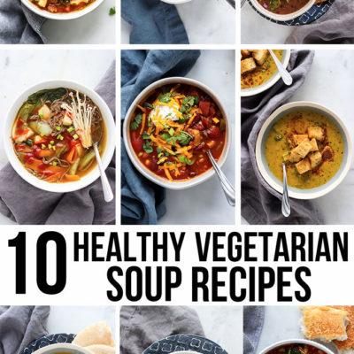 10 Healthy Vegetarian Soup Recipes
