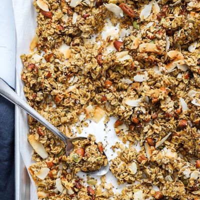 Healthy Super Seedy Granola (Vegan, Gluten Free)