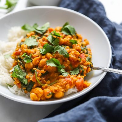 Six Ingredient Red Lentil Curry