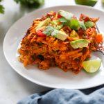 Easy Vegan Enchilada Bake