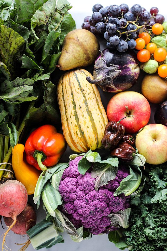 healthy vegetarian grocery list