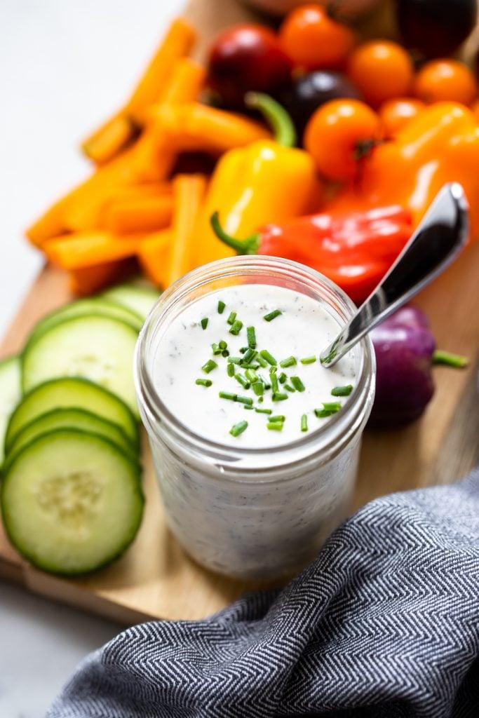 homemade vegan ranch dressing